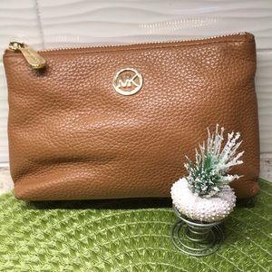Michael Kors cosmetic/clutch bag